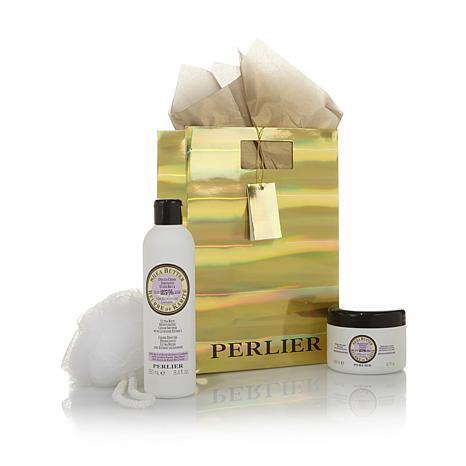 Perlier Shea Lavender Body Balm & Shower Cream Set