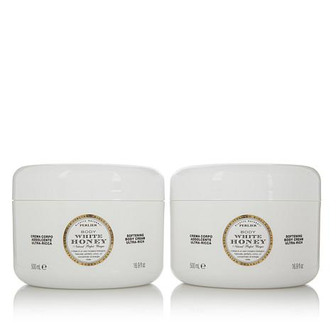 Perlier White Honey Body Cream Duo