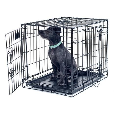 "PETMAKER 2-Door Foldable Dog Crate - 30"" x 19"""