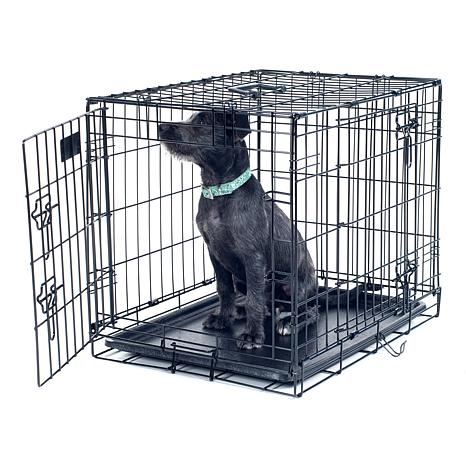 Petmaker Medium 2 Door Foldable Dog Crate 30 X 19 8377930 Hsn