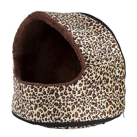 PETMAKER Cozy Canopy Pet Cave Bed
