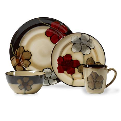 Pfaltzgraff 16-piece Painted Poppies Dinnerware Set  sc 1 st  HSN.com & Pfaltzgraff 16-piece Painted Poppies Dinnerware Set - 7501078 | HSN