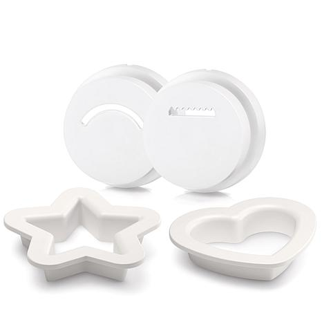 Philips 4-piece Cookie Accessory for Pasta Maker