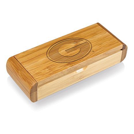 Picnic Time Élan-Bamboo Corkscrew - Un. of Georgia