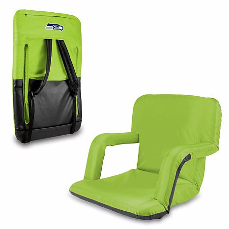 Picnic Time Folding Stadium Chair Seattle Seahawks