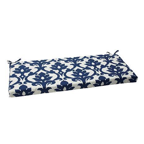 Pillow Perfect Outdoor Bosco Bench Cushion - Navy