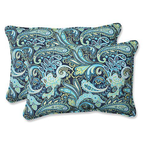 pillow perfect pretty paisley rectangular pillows navy