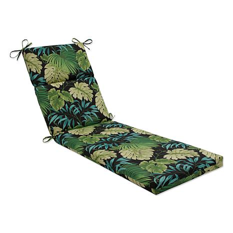 Pillow Perfect Reversible Tropique Lyndhurst Chaise Lounge Cushion Green 7408643 Hsn