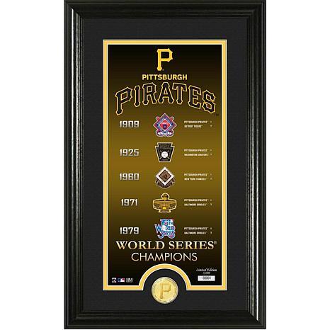 Pittsburgh Pirates Legacy Supreme Bronze Coin Photo Mint