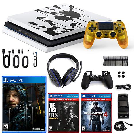 Playstation 4 Pro 1tb Limited Death Stranding Edition Console With