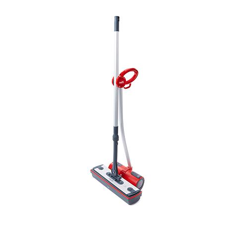 polti moppy red steam cleaning cordless mop 8408873 hsn