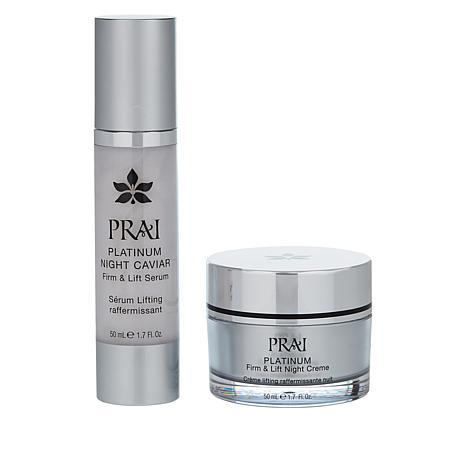 PRAI Platinum Night Repair Collection