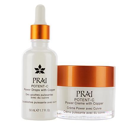 PRAI Potent-C Power Drops & Power Creme