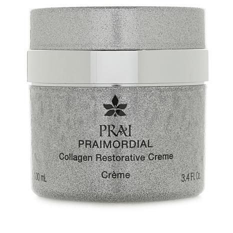 PRAI PRAIMORDIAL Collagen Restorative Creme in  Silver Jar