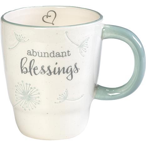 Precious Moments Abundant Blessings Ceramic Mug