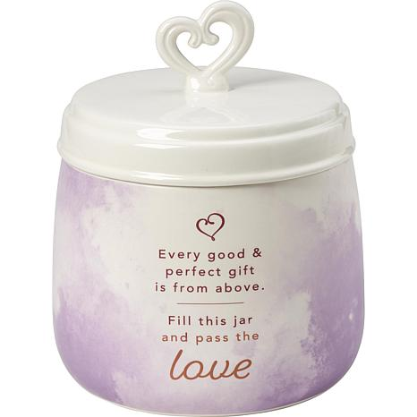 Precious Moments Every Good And Perfect Gift Ceramic Sharing Jar