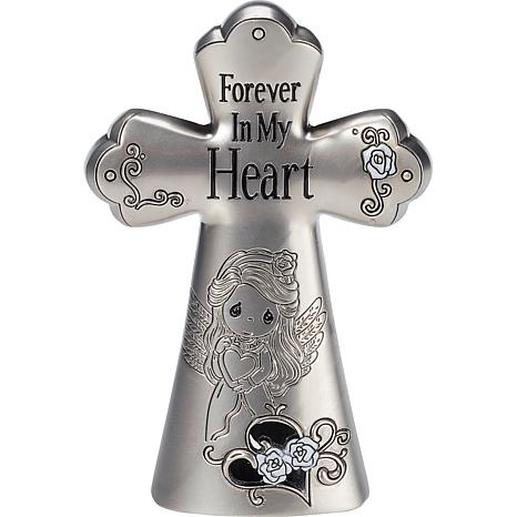 Precious Moments Forever In My Heart Zinc Alloy Cross