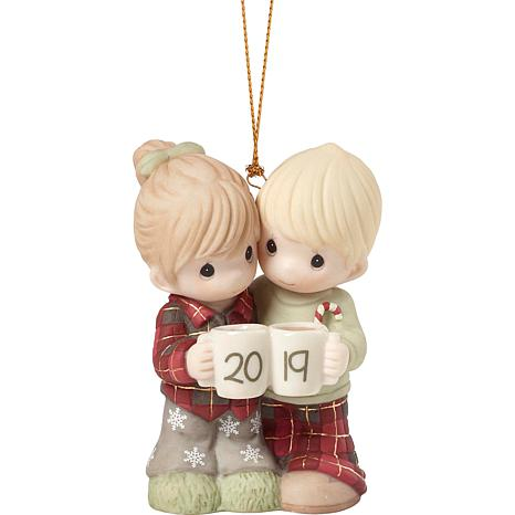 "Precious Moments ""Our First Christmas Together"" 2019 Couple Ornament"