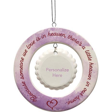 Precious Moments Someone We Love Is In Heaven Memorial Ornament