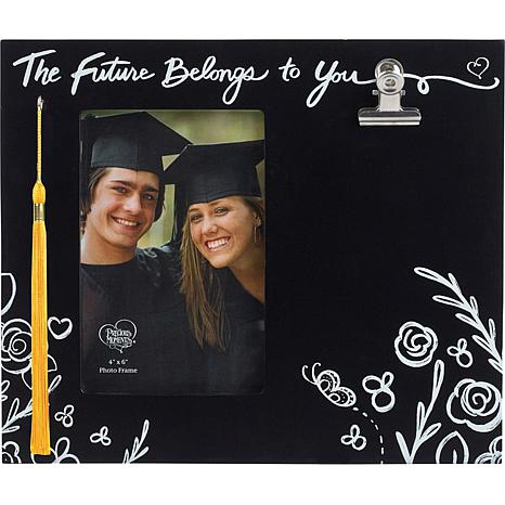 """Precious Moments """"The Future Belongs to You"""" Wood 4x6 Photo Frame"""