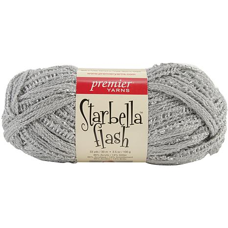 Premier Yarns Flash Yarn - Silver