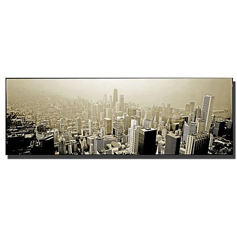 "Preston ""Chicago Skyline"" Canvas Art - 24"" x 10"""