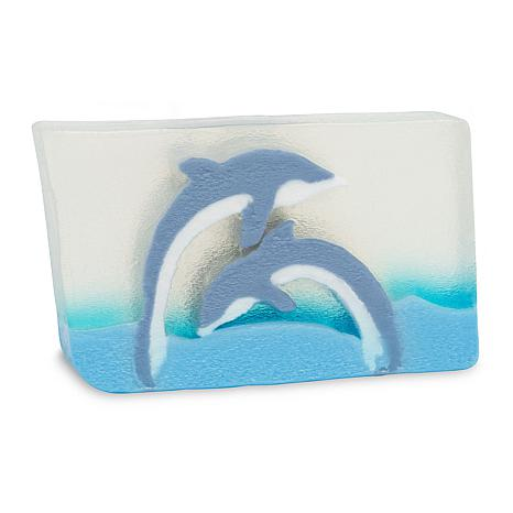 Primal Elements 6 oz Glycerin Soap - Dueling Dolphins