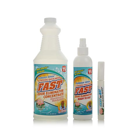 Prof. Amos FAST Odor Eliminator Trio - Water Lily