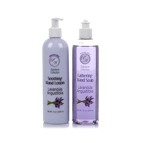 Professor Amos 12 oz. Hand Soap & Lotion Duo - Lavender