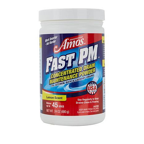 Professor Amos 24oz Fast PM Drain Maintenance Powder AS