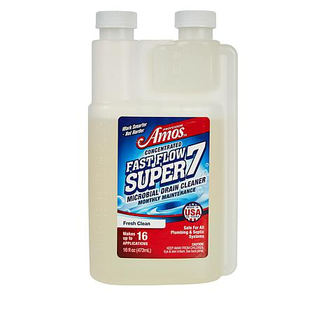 Professor Amos Fast Flow Super7 Concentrated Drain Solution w/Microbes