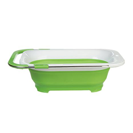 Incroyable Progressive Over The Sink Collapsible Colander