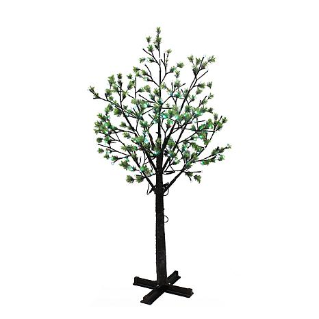 Puleo International 7.5'  Tree w/720 Multi-Color Changing LED Lights
