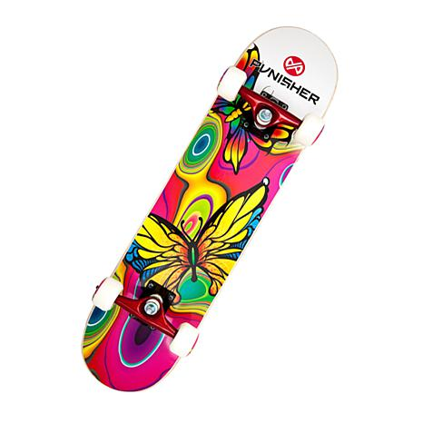 Punisher Complete Skateboard - Butterfly Jive
