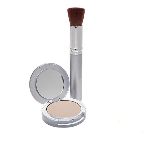 PUR Light 4-in-1 Pressed Mineral Powder Foundation with Brush