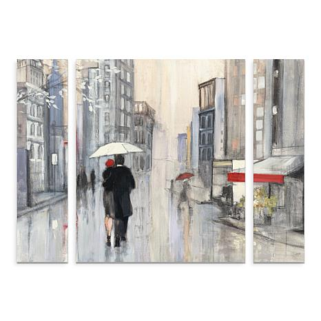"Purinton ""Spring Rain New York Crop"" Art - 24"" x 32"""