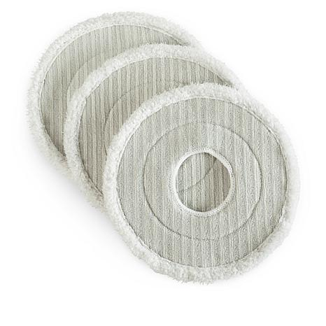 Quickie Mop 3-pack Spin Mophead Refill