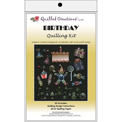Quilled Creations Quilling Kits - Birthday