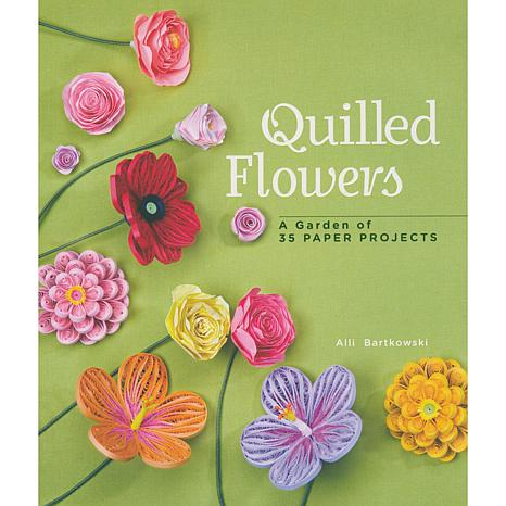 Quilled Flowers Craft Book by Alli Bartkowski