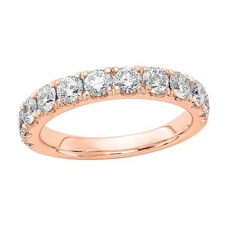Radiant Fire 14K Gold 1.50ctw Lab-Grown Diamond Round Wedding  Ring