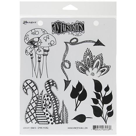 Ranger Dyan Reaveley's Rubber Stamp Set - Doodle Parts