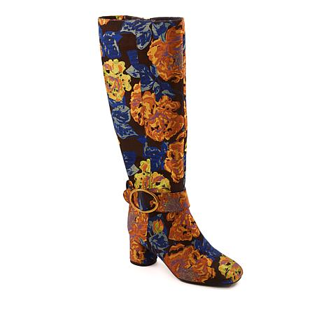 Rara Avis by Iris Apfel Captive Floral Brocade Boot
