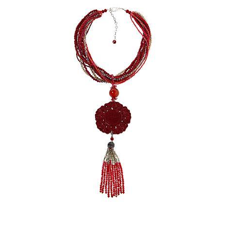 Rara Avis by Iris Apfel Multi-Strand Beaded Necklace