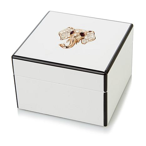 Rarities Elephant-Design Lacquer Jewelry Box