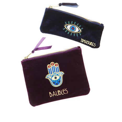 Rarities Velvet Talisman Pouch 2-piece Set