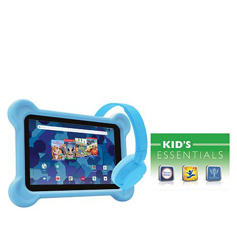 "RCA 8"" Kids Disney Tablet with Headphones and Bumper Case"