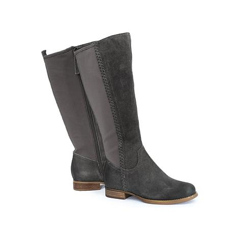 Revitalign Canyon Burnished Suede Tall Leather Boot