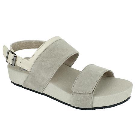 Revitalign Up Swell Adjustable Leather Sandal