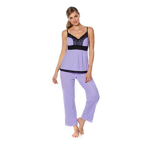 Rhonda Shear Butterknit Pajama Set