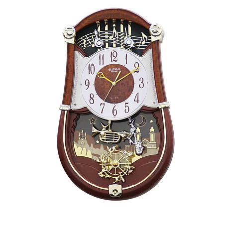 RHYTHM Concerto Entertainer II Musical Clock